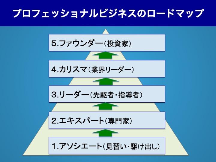 プロフェッショナルビジネスロードマップ